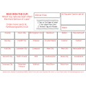 24 x A6 Football Fundraising Cards / Raffle Ticket / Scratchcards Value Pack