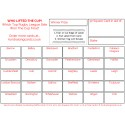 24 x Rugby League Fundraising Cards / Raffle Ticket / Scratchcards Value Pack