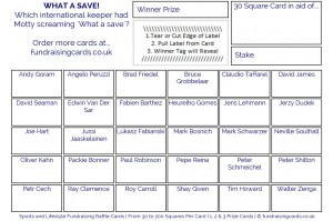 24 x Football Fundraising Cards / Raffle Ticket / Scratchcards Value Pack